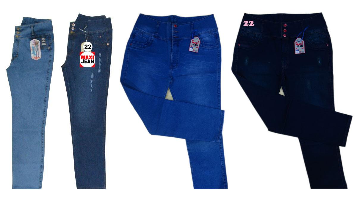 Pantalon De Dama Talla 22 Maxi Jean